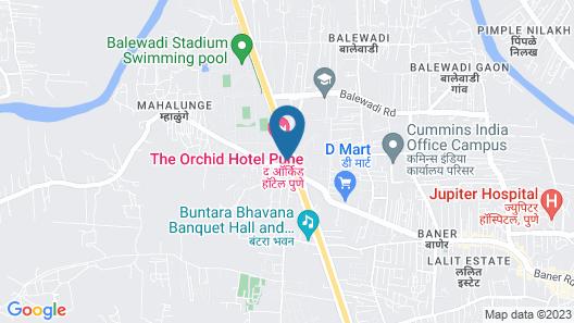 The Orchid Hotel Pune Hinjewadi Map