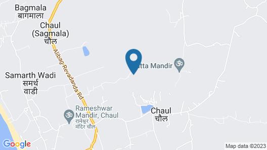 The Fern Silvanus Resort Alibaug Map