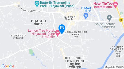 Hyatt Place Pune/Hinjawadi Map