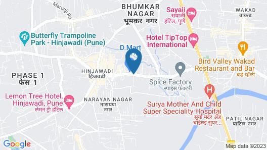 Vivanta Pune, Hinjawadi Map
