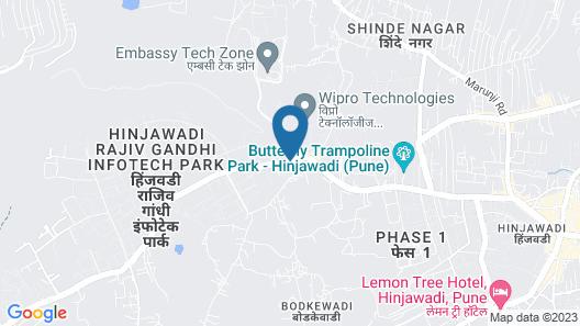 ibis Pune Hinjewadi Hotel Map