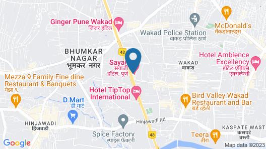 Sayaji Pune Map