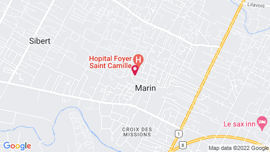 Universal Hotel Haiti Map