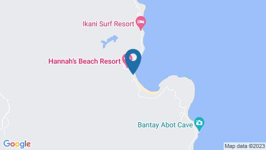 Blue Lagoon Inn and Restaurant Map