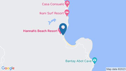 Blue Lagoon Inn Extension Map