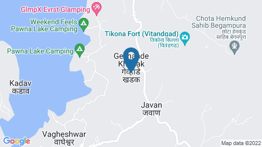 Amanzi - The Boutique Resort Map