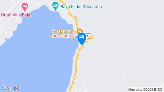 Hotel y Club de Playa Master Club Map