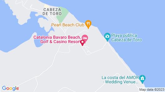 Catalonia Punta Cana - All Inclusive Map
