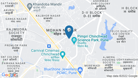 Doubletree By Hilton Pune - Chinchwad Map