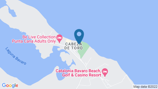 Beach Front Luxury Apartment - BlueBeach Map