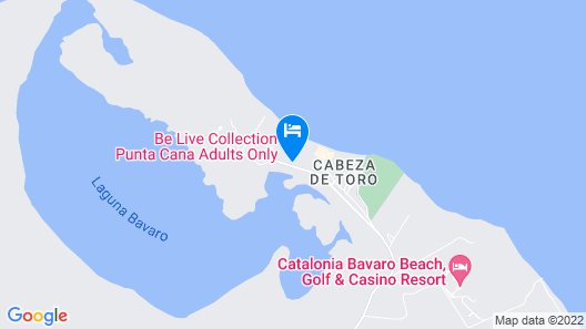 Be Live Collection Punta Cana - Adults Only Map