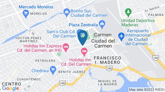 One Ciudad del Carmen Concordia Map