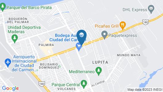 Hampton Inn by Hilton Ciudad del Carmen Campeche Map