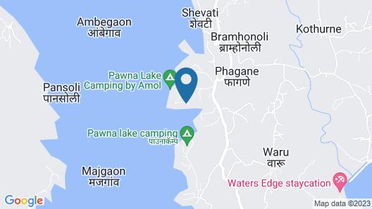Pavana Lake Camping Map
