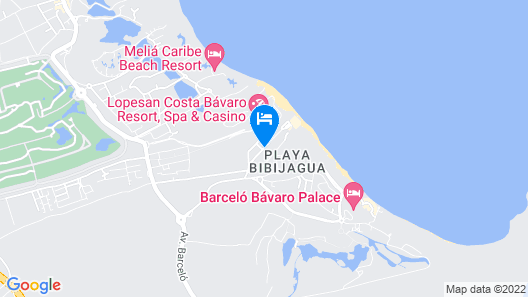 Apartment In Bavaro For Beach Lovers Bavaro Beach Punta Cana Map