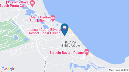 Lopesan Costa Bávaro Resort Spa & Casino - All Inclusive Map