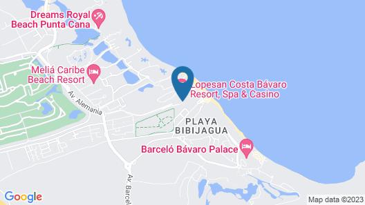Unique Club at Lopesan Costa Bávaro - All Inclusive Map