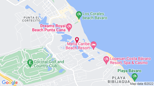 The Grand Reserve at Paradisus Palma Real – All Inclusive Map