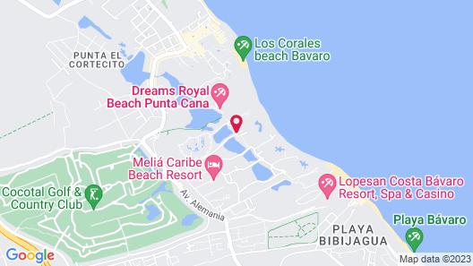 Paradisus Palma Real Golf & Spa Resort All Inclusive Map