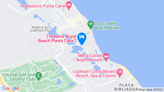 Secrets Royal Beach Punta Cana - Adults Only - All Inclusive Map