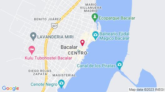 Bamboo Inn Map