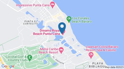 Secrets Royal Beach Punta Cana - Adults Only Map
