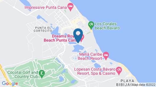 Dreams Royal Beach Punta Cana - All Inclusive Map