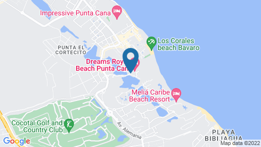 Now Larimar Punta Cana Map