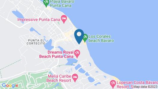 Las Terrazas VIP Pool Beach Club & Spa Map