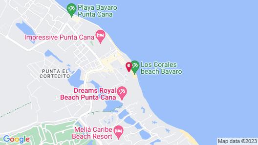 Los Corales Beach Village Map