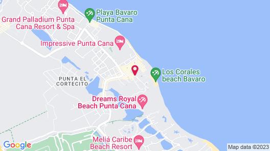 Ducassi Suites Rooftop Pool Beach Club & Spa Map