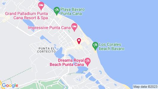 Playa Turquesa Ocean Club Map
