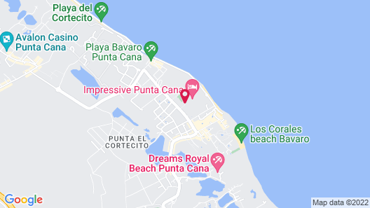 Impressive Premium Punta Cana Map