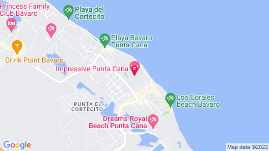 Impressive Punta Cana Map