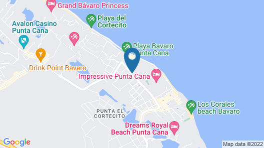 Vista Sol Punta Cana Beach Resort & Spa - All Inclusive Map