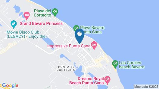 Vista Sol Punta Cana Beach Resort & Spa - All Inclusive Map