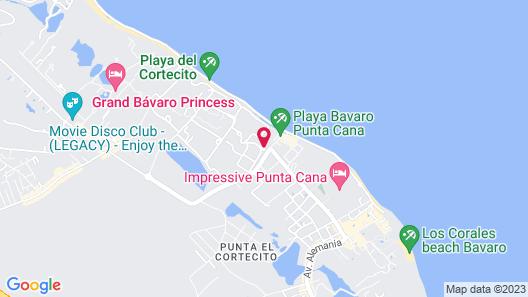 Grand Palladium Bávaro Suites Resort & Spa - All Inclusive Map