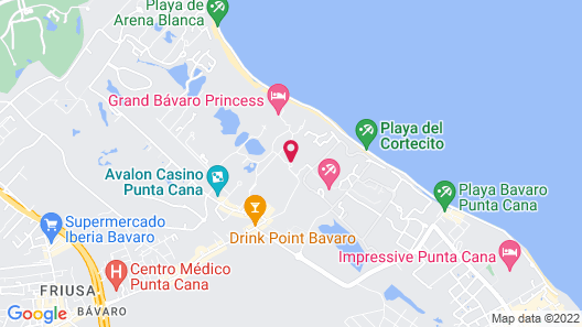 TRS Turquesa Hotel - Adults Only - All Inclusive Map