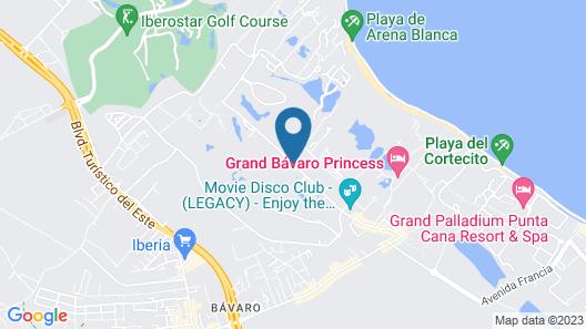 Karibo Punta Cana Map