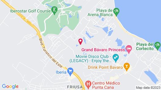 Princess Family Club Bavaro - All Inclusive Map