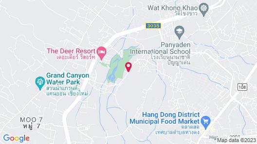 Corner Spa Resort Map