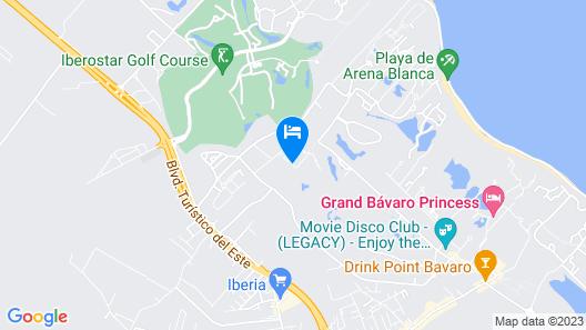 Aqua Boutique Hotel Punta Cana Map