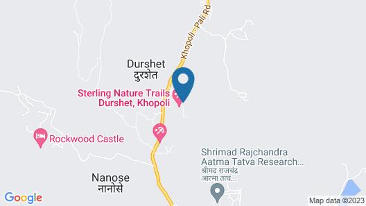 Durshet Forest  A Nature Trails resort Map