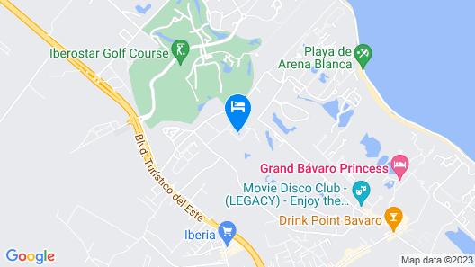 Laguna Golf Bavaro Map