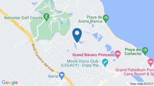 Punta Cana Hostel Map
