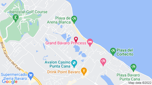 The Reserve at Paradisus Punta Cana Resort - All Inclusive Map