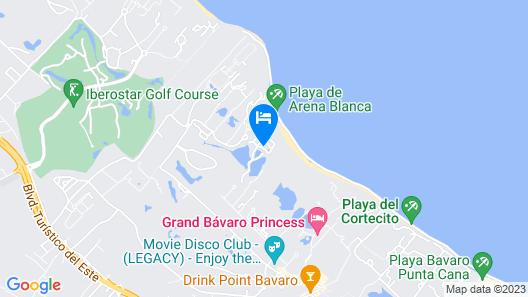Caribe Deluxe Princess - All Inclusive Map