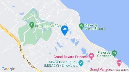Caribbean Experience Playa Bavaro 1r Office 09 Map