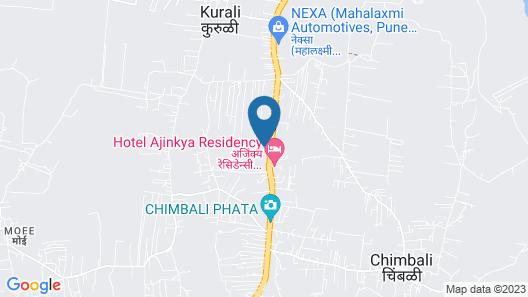 FabHotel Ajinkya Residency Map