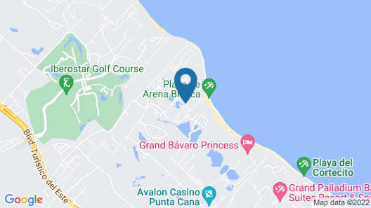 Punta Cana Princess Adults Only - All Inclusive Map